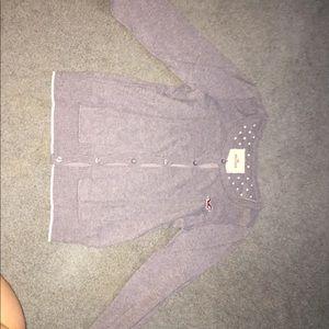 Hollister Gray Sweater